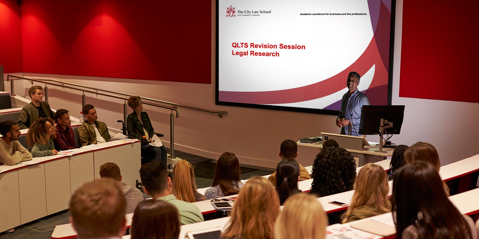 QLTS - The only QLTS course offering Live Classroom Revision. In association with City Law School: CITY, University of London